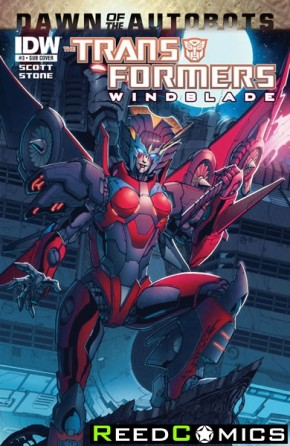 Transformers Windblade #3 (Subscription Variant Cover)