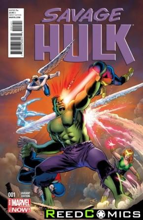 Savage Hulk #1 (1 in 25 Incentive Variant)