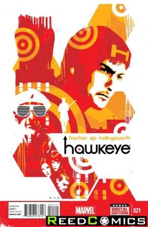 Hawkeye Volume 4 #21