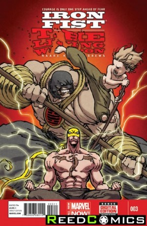 Iron Fist Living Weapon #3