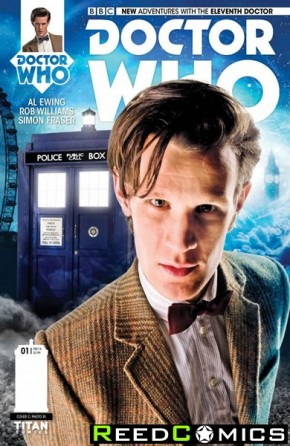 Doctor Who 11th #1 (1 in 10 Incentive Variant Cover)