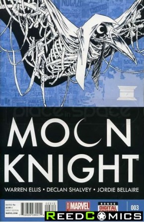 Moon Knight Volume 7 #3 (2nd Print)