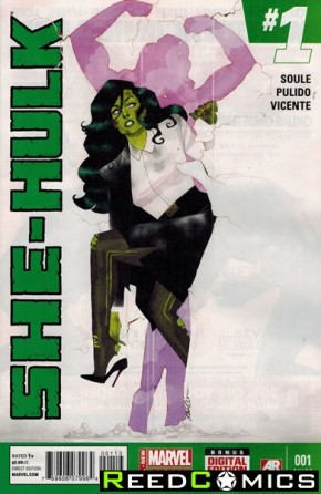 She Hulk Volume 3 #1 (3rd Print)