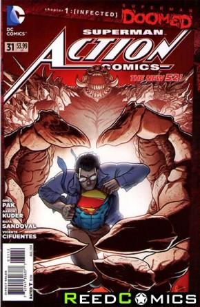 Action Comics Volume 2 #31 (2nd Print)