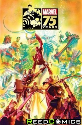 Marvel 75th Anniversary Magazine Special Edition (Alex Ross Avengers Cover)