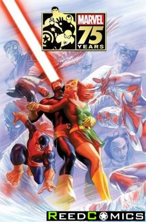 Marvel 75th Anniversary Magazine Special Edition (Alex Ross X-Men Cover)