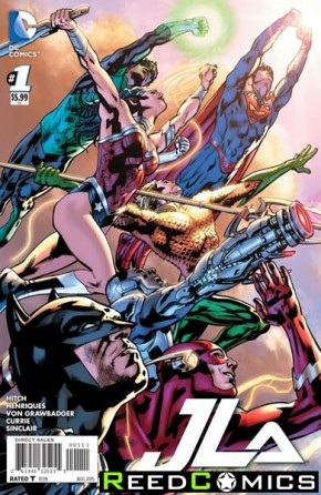Justice League of America Volume 4 #1