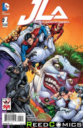 Justice League of America Volume 4 #1 (The Joker Variant Edition)