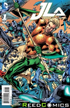 Justice League of America Volume 4 #1 (Aquaman Variant Cover)