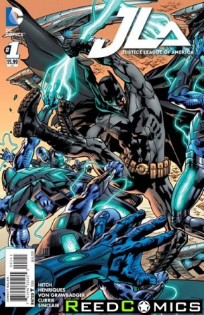 Justice League of America Volume 4 #1 (Batman Variant Cover)