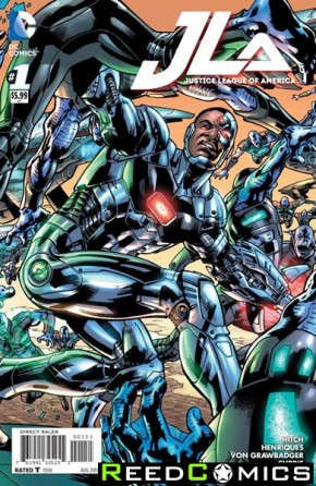 Justice League of America Volume 4 #1 (Cyborg Variant Cover)