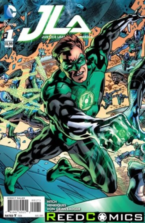 Justice League of America Volume 4 #1 (Green Lantern Variant Cover)