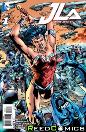 Justice League of America Volume 4 #1 (Wonder Woman Variant Cover)