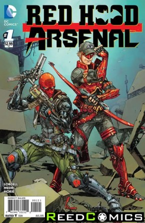 Red Hood Arsenal #1 (1 in 25 Incentive Variant Cover)
