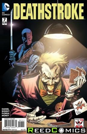 Deathstroke Volume 3 #7 (The Joker Variant Edition)