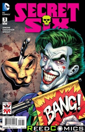 Secret Six Volume 4 #3 (The Joker Variant Edition)