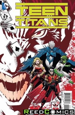 Teen Titans Volume 5 #9 (The Joker Variant Edition)
