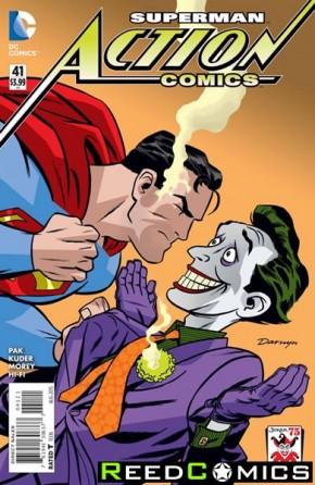 Action Comics Volume 2 #41 (Joker Variant Edition)