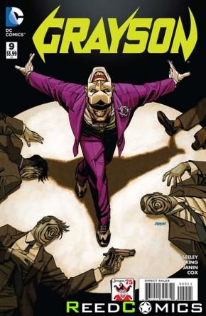 Grayson #9 (The Joker Variant Edition)