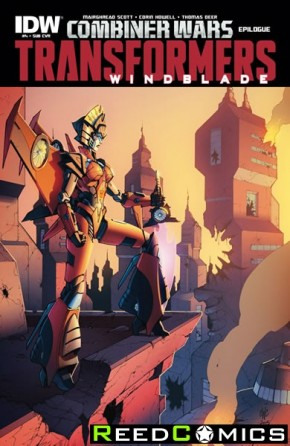 Transformers Windblade Combiner Wars #4 (Subscription Variant Cover)