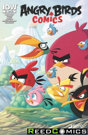 Angry Birds #12 (Subscription Variant Cover)