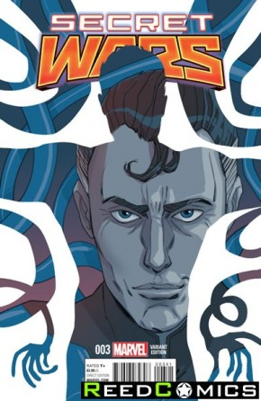 Secret Wars #3 (Sauvage Variant Cover)