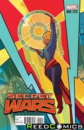 Secret Wars #4 (Henderson Variant Cover)