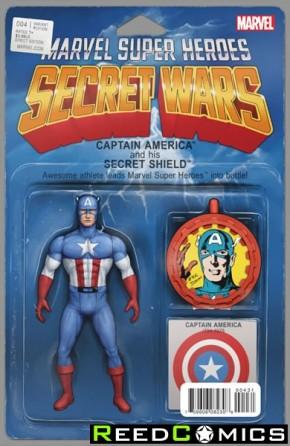 Secret Wars #4 (Christopher Action Figure Variant Cover)