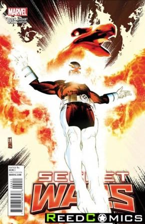 Secret Wars #4 (Coker 1 in 25 Incentive Variant Cover)
