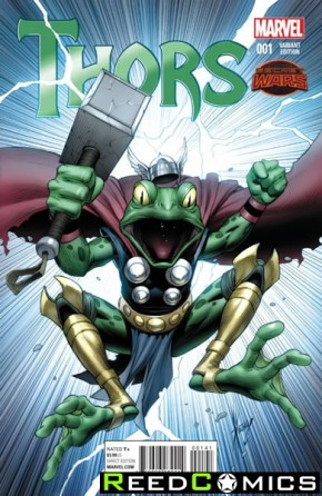 Thors #1 (1 in 25 Incentive Variant Cover)