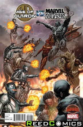 Age of Ultron vs Marvel Zombies #1 (1 in 25 Incentive Variant Cover)