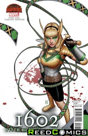 1602 Witch Hunter Angela #1 (Gwengela Variant Cover)