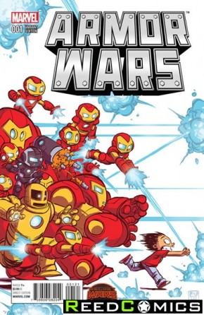 Armor Wars #1 (Skottie Young Baby Variant Cover)