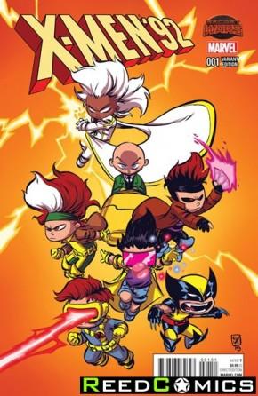 X-Men 92 #1 (Skottie Young Baby Variant Cover)