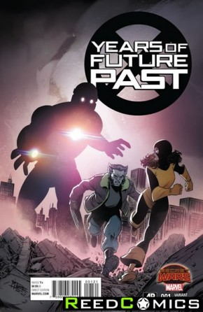 Years of Future Past #1 (1 in 25 Incentive Variant Cover)