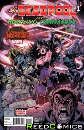 Mrs Deadpool and the Howling Commandos #1