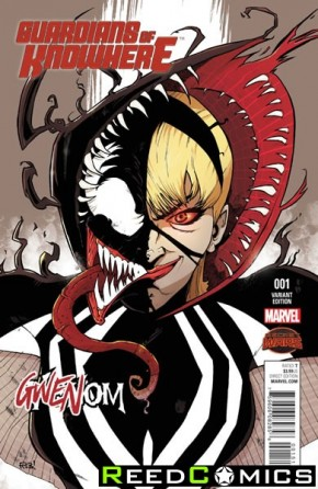 Guardians of Knowhere #1 (Gwenom Variant Cover)