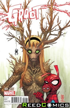 Groot #1 (Gwoot Variant Cover)