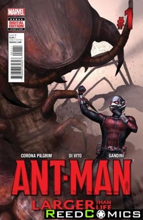 Ant Man Larger Than Life #1