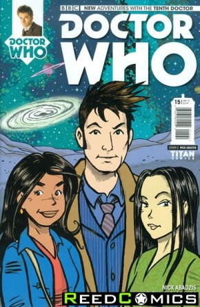 Doctor Who 10th #15 (1 in 10 Incentive Variant Cover)