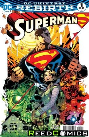 Superman Volume 5 #1 (DCU Rebirth - limit 1 per customer)