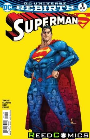 Superman Volume 5 #1 (DCU Rebirth - Variant Cover)