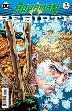Aquaman Rebirth #1 (DCU Rebirth - limit 1 per customer)