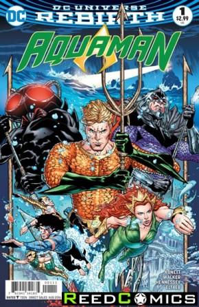 Aquaman Volume 6 #1 (DCU Rebirth)