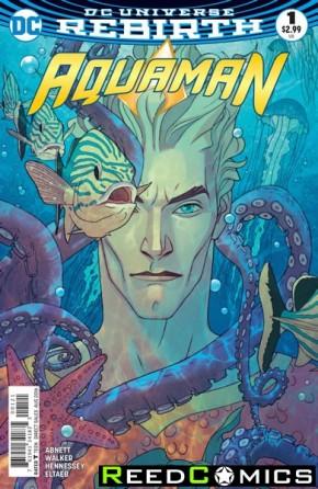 Aquaman Volume 6 #1 (DCU Rebirth - Variant Edition)