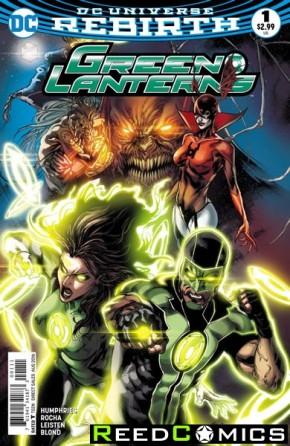 Green Lanterns #1 (DCU Rebirth - limit 1 per customer)