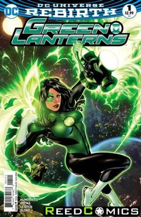 Green Lanterns #1 (DCU Rebirth - Variant Cover)