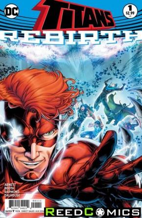 Titans Rebirth #1 (DCU Rebirth - limit 1 per customer)