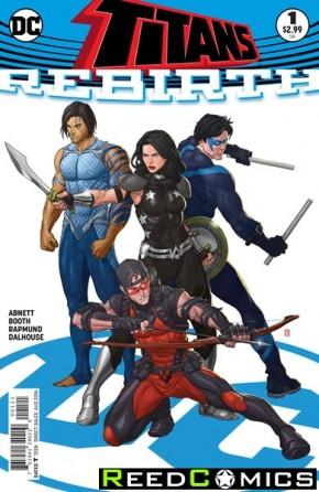Titans Rebirth #1 (DCU Rebirth - Variant Edition)