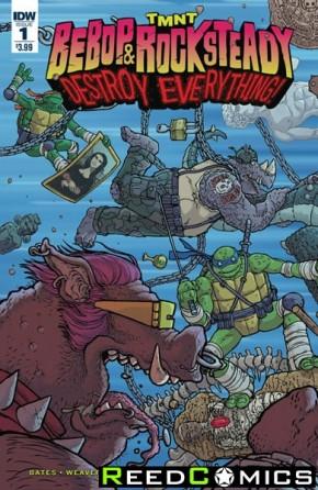 Teenage Mutant Ninja Turtles Bebop and Rocksteady Destroy Everything #1